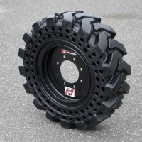 How Tire Design Improves Solid Skid Steer Tire Life